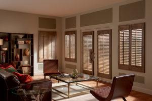 shutter in modern lving room