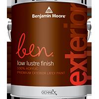Ben Premium Exterior latex paint